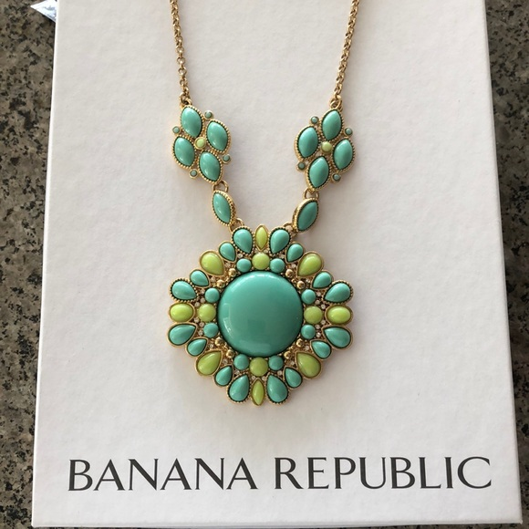 Banana Republic Jewelry - Necklace and Pendant